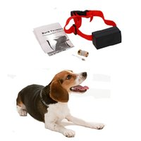Wholesale USA Anti Bark Dog Training Stop Barking Shock Control Collar Ultrasonic Shock Aid Control P48617