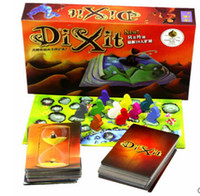 Wholesale Dixit Card game version wood rabbit board games English instructions send by email