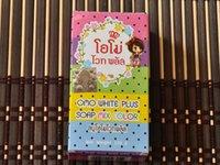 Wholesale drop shipping Brand New Arrivals OMO White Plus Soap Mix Color Plus Five Bleached White Skin Gluta Rainbow Soap