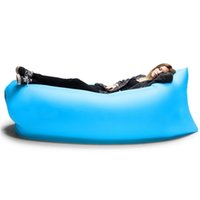 Wholesale Outdoor Portable Inflatable Sleeping Bag Air Bag Lounger Oxford Fabric Sofa For Beach Travelling Fishing Camping