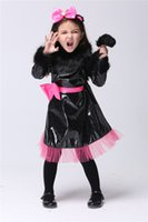 baby catwoman - Kids Cute Catwoman Costume Baby Girls Halloween Costumes Outfit Catwoman Party Birthday Cosplay Catwoman Performance Clothes