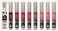 honest wholesale - 2016 Latest Arrival Meet Matt Hughes e Long Lasting Lip Gloss HONEST DEVOTED LOYAL SENTIMENTAL CHIVALROUS Lipstick Colors