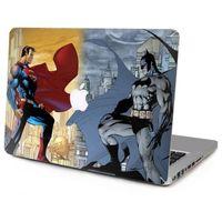 Wholesale 2016 Laptop Vinyl Decal Superman VS Batman Top Sticker Starry Sky Painting Cover Skin for Macbook Air Pro Retina
