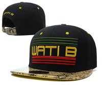 b baseball - Retail Adjustable Ball skateboard Caps WATIB hats hip hop snapback cap Wati B baseball cap snapbacks