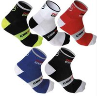 Wholesale New Brand Mountain bike socks cycling sport socks Racing Cycling Socks Coolmax Material top quality compression socks