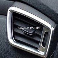 auto ac vents - ABS Chrome Air Condition AC Vent Outlet Cover Trim For Nissan Qashqai J11 Auto Styling Accessory