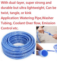 Hoses & Hose Reels Plastic  Free Shipping !!! 10 Meters Blue Car Washing Garden Hose Wear-resistant Water Pipe Cold-proof anti-freezing bending resistant
