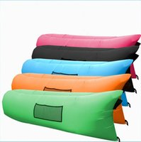 best inflatable mattresses - 2016 Best Quality Fast Inflatable Air Sofa Lazy Pads Outdoor Mattress Sleeping Pads Lay Bag