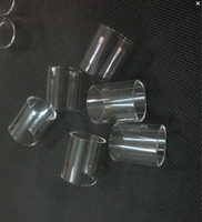 Wholesale pyrex glass replacement glass tubes for micro tfv4 plus gemini tank arctic v8 melo mini subvod mega TF RTA gemini tank free ship