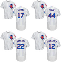 xxxl size - 2016 Flexbase Authentic Collection Men s Chicago Cubs Kyle Schwarber Kris Bryant Rizzo baseball jerseys Stitched size S XL