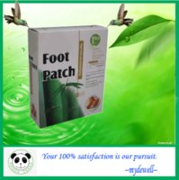 Wholesale High quality Detox Foot Patch Bamboo Pads Patches With Adhersive sheet Patches Adhesives
