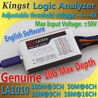 Wholesale Kingst LA1010 USB Logic Analyzer M max sample rate Channels B samples MCU ARM FPGA debug tool