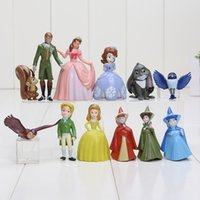 Wholesale cm Sofia Princess Action Figures PVC sophia the first Princesses Collections Toys