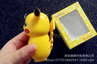 Wholesale New mAh Poke Pikachu Cell Phone Power Banks Pocket Monster Universal Portable Mobile Chargers XMAS Gifts