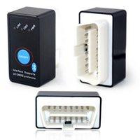 Wholesale Hot Sale Switch Super Mini Elm327 Bluetooth OBD2 v1 Can Bus Diagnostic Elm OBD II Scanner for All OBDII Protocols