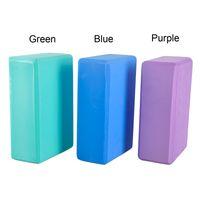 Wholesale High density EVA Yoga Blocks Foam Home Exercise Yoga Bricks Fitness Pilates Blocks