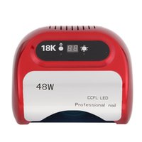 automatic light timers - Nail Polish Dryer LED lamp with CCFL W LED UV Lamp Light V with Automatic Induction Timer Display
