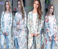 Wholesale Knitted Fashion Shrug - 2017 Women Chevron Zigzag Sweaters Fashion Autumn Chothing Winter Shrug Sweater Loose Sexy Cardigan Women Plus Size Fall Oversized Cardigan