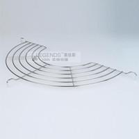 Wholesale 30cm diameter stainless steel wok oil rack holder