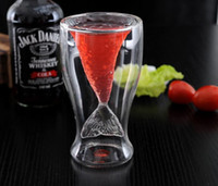Wholesale Creative Crystal Mermaid Glass Mug Cup Novelty Vodka Shot Drinking Bar Party Cup Coffee Cup for fast shipping