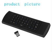 Wholesale MX3 M Keyboard G Remote Control Qwerty Wireless Keyboard Air Fly Mouse IR Remote Control For XBMC Android Mini PC TV Box