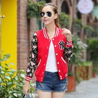 Wholesale Baseball Jacket Casacos Femininos College Jackets Harajuku Style Women Jacket Spring and Autumn College Jacket Girl