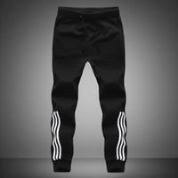 Wholesale New Arrival Brand Clothing Men Sweatpants Trousers Mens Joggers Pants Stripe Sportwear Pants XL