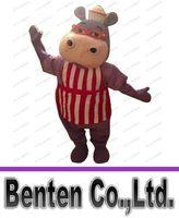 adult hippo costume - Anime cosply Costumes Hallie Doc Mcstuffins Mascot Costume Adult Carnival Fancy Dress Kits Hippo Mascotte Mascota LLFA