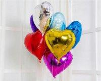 Wholesale 5 quot Inch cm Foil Star heart Balloon Colors To Choose Helium Metallic Wedding