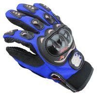 Wholesale Motocross Men Women Waterproof Full Finger Mountain Bike High Quality Motorcycle Racing Gloves Breathable Mesh Fabric