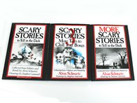 Wholesale 300pcs set Scary storiesMore Tales to Chill Your Bones Scary Stories to Tell In the Dark More Scary Stories to Tell in the Dark