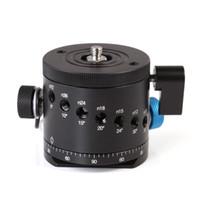 Wholesale DH D Panoramic Panorama BallHead Clamp Indexing Rotator For Camera Tripod Head