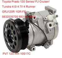 Wholesale Four Seasons S17C ac compressor for Toyota Prado Series runner FJ Tundra GRJ120R