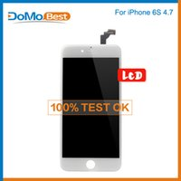 bar slider - OEM Replacement For iPhone s LCD Screen Assembly No Dead Pixels Best of best Grade A DHL White