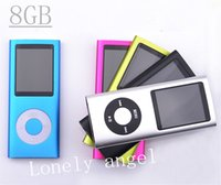 Wholesale New FM Video TH GEN GB MP3 MP4 Screen Player Fashion Portable Mini Sports Music MP4 Player Color Crystal Box