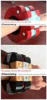 Wholesale Gods Eater Burst Lindow Amamiya Sakuya Tachibana Alisa Soma Cosplay Bracelet Wristband