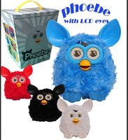 baby owl pet - New Electronic Owl Pheobe Pet Ferbey Baby Learning Education Plush Firby Elves Talking Speaking Interactive Cat Brinquedos