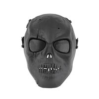 bb gun games - Skull Skeleton Army Airsoft Paintball BB Gun Full Face Game Protect Mask Hot search