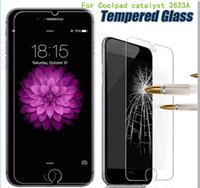 Wholesale For ZTE Zmax Pro z981 MetroPCS alcatel fierce for Coolpad Catalyst A A For iphone plus Tempered Glass Screen Protector Film