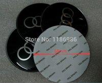 Wholesale mm black badge wheel center hub cap decals stickers exterior accessories D sticker