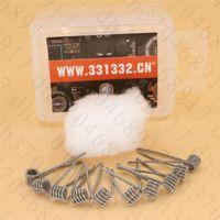 Новые слиты Клэптон катушки Шипы хлопка, импортируемых из США для Sbutank Mini tfv4 Simba RDA RTA Atomizer DIY прекомпилированное Coil