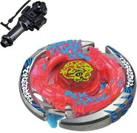 beyblade leon - 4D hot sale beyblade Thermal Lacerta Metal Masters D box launcher fang leon BB Gyroscopes Toys Beyblade conjunto menino free