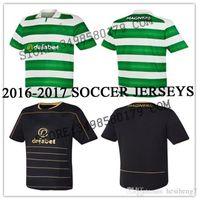 Wholesale Wholesalers Scottish Celtic soccer Jerseys MULGREW LUSTIG UIRGIL BITTON BROWN home away rugby football shirts
