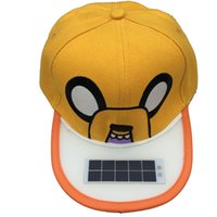 led light baseball cap - Orange Solar LED Torch Cap Free charging Free hand LED Light cap Hiking Hat Camping hat fishing cap baseball cap