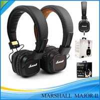 Cheap 2016 new Marshall Major II 2nd Generation headphones With Mic Noise Cancelling Deep Bass Hi-Fi HiFi Headset Monitor Headphone to JP