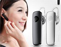 Wholesale M165 Hot Wireless Stereo Bluetooth Headset Earphone mini wireless bluetooth handfree universal for all phone with pakcage