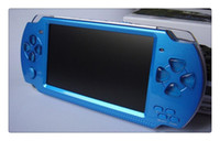 Wholesale New handheld Game Console inch screen mp4 player MP5 game player real GB support for psp game camera
