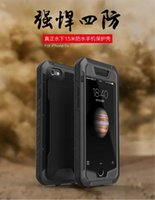 anti shock protection - Shock proof waterproof shock proof dust proof mobile phone protection shell four prevention Apple S thin waterproof anti fall