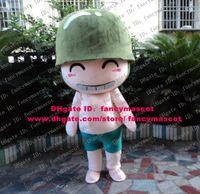 artillery gun - Cute Pink POPO Popois Cannon Artillery Guns Artillerymen Artillerist Mascot Costume Cartoon Character Mascotte Green Hat No