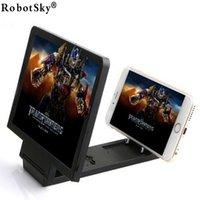 amplifier holder - Foldable Portable Mobile Phone Screen Magnifier D HD amplifier Expander Stand Holder For SmartPhone